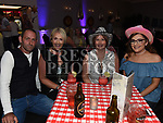 Trevor Birch, Tina Clarke, Denise McDonough and Amy Clarke at the Boyne Fishermans barn dance in the Westcourt hotel. Photo:Colin Bell/pressphotos.ie