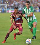 Atlético Nacional venció 0-1 a Deportes Tolima. Fecha 1 Liga Águila I-2018.