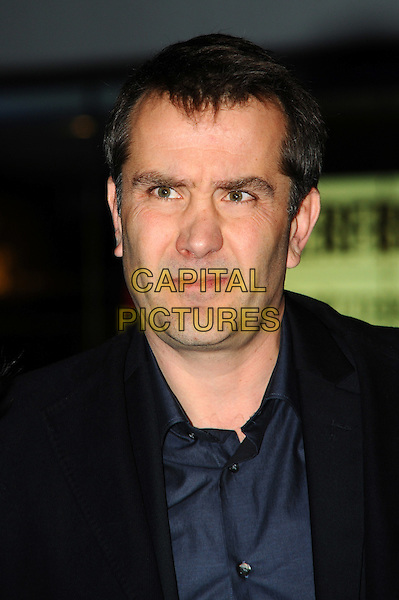Damian Jones.'The Iron Lady' European Film Premiere at BFI cinema, Southbank, London, England..4th January 2012.headshot portrait black blue shirt.CAP/CJ.©Chris Joseph/Capital Pictures.