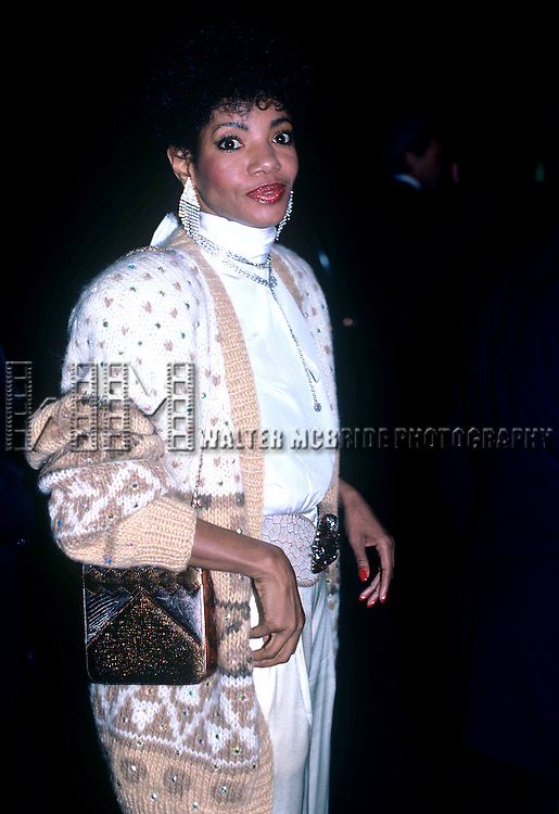 Melba Moore pictured in 1985 in New York City. © Walter McBride / Retna Ltd.