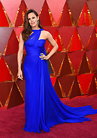 Jennifer Garner arrives at the Oscars on Sunday, March 4, 2018, at the Dolby Theatre in Los Angeles. (Photo by Richard Shotwell/Invision/AP)