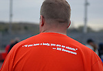 May 17, 2011 Colorado Springs, CO.  A motto prevalent at the 2011 Warrior Games at the U.S. Olympic Training Center, Colorado Springs, CO...
