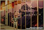 John Kieffer's landscape photography on display, Colorado Convention Center, Denver.