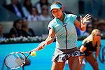 The tennis player Na Li during the match against Maria sharapova  in the Madrid Open Tennis Tournament. In Madrid, Spain, on 09/05/2014. Samuel de Roman/Photocall300