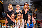 Colette's Hair Salon ,Ballyheigue and Bitter Sweet Beauty Salon, Ballyheigue staff Christmas party on Saturday night, at No 4 the Square front l-r Tracy Cashman, Vanessa Casey, Fiona Galway, Catriona O'Sullivan, Moira Glennon and Colette Goggin.