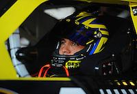Apr 24, 2009; Talladega, AL, USA; NASCAR Sprint Cup Series driver Elliott Sadler during practice for the Aarons 499 at Talladega Superspeedway. Mandatory Credit: Mark J. Rebilas-