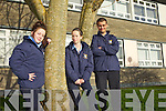 Sporting their new school jacket were students from Listowel Community College this week. From l-r were: Nicole O'Connor, Keighleigh Maxwell and Jack Kingston.