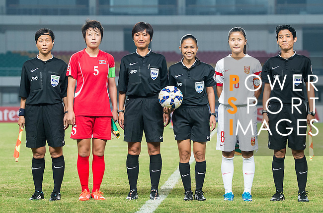 China PR vs DPR Korea during the AFC U-19 Women's Championship China Semi Finals match at the Jiangning Sports Centre Stadium on 26 August 2015 in Nanjing, China. Photo by Aitor Alcalde / Power Sport Images
