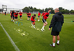 General view of pre-season training during the training session at the Shirecliffe Training complex, Sheffield. Picture date: June 27th 2017. Pic credit should read: Simon Bellis/Sportimage