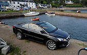 Ford Focus Coupé-Cabriolet CC-3 - in Fortrose conservation harbour area- picture by Donald MacLeod 06.06.08