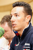 Joaquin Purito Rodriguez in press conference during the rest day of La Vuelta 2012.August 27,2012. (ALTERPHOTOS/Acero) /NortePhoto.com<br />