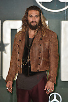 Jason Momoa ( Arthur Curry / Aquaman )<br /> 'Justice League' film photocall in London, England on November 4t, 2017.<br /> CAP/PL<br /> &copy;Phil Loftus/Capital Pictures