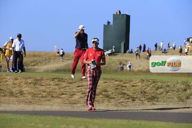 Ian POULTER (ENG) during round two of  The 142th Open Championship Muirfield, Gullane, East Lothian, Scotland 19/7/2013<br /> Picture Fran Caffrey www.golffile.ie: