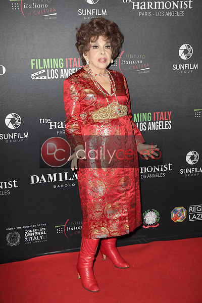 Gina Lollobrigida<br /> at the Filming Italy Awards and Official HFPA Screening of The Anarchist Banker, Harmony Gold, Los Angeles, CA 01-31-19<br /> David Edwards/DailyCeleb.com 818-249-4998