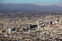 aerial photograph Los Angeles, California