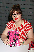 Amber Tamblyn 6/1/2018<br /> 2018 Book Expo at the Javitz Center<br /> Photo By John Barrett/PHOTOlink/MediaPunch
