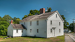 The Rev. Daniel Putnam House built in 1720 stands in North Reading, Massachusetts.