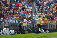 Brooks Koepka (USA) celebrates winning the 100th PGA Championship at Bellerive Country Club, St. Louis, Missouri. 8/12/2018.<br /> Picture: Golffile | Ken Murray<br /> <br /> All photo usage must carry mandatory copyright credit (&copy; Golffile | Ken Murray)