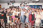 FUN: Evelyn Flynn of Manor West, Tralee (centre) at her 21st birthday in Horans on Friday evening, along with family and friends..