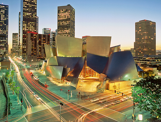 Disney Hall,Downtown Los Angeles