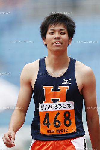 Kazuma Oseto (),<br /> MAY 20, 2016 - Athletics : The 95th Kanto University Athletics Championship Men's 100m Semi-Final at Nissan Stadium, Kanagawa, Japan. (Photo by AFLO SPORT)