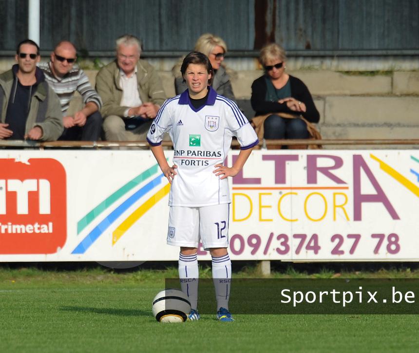 Dames RSCA ANDERLECHT :<br /> Megane Lerinckx<br /> <br /> foto Dirk Vuylsteke / Nikonpro.be