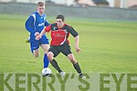 St Brendan's Park David Clifford in action in the FAI junior cup at Christy Leahy park, Tralee on Sunday.
