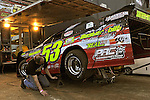 Feb 06, 2011; 6:03:30 PM; Gibsonton, FL., USA; The Lucas Oil Dirt Late Model Racing Series running The 35th annual Dart WinterNationals at East Bay Raceway Park.  Mandatory Credit: (thesportswire.net)