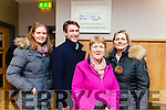 Ashley Fitzgerald, Damien O'Mahony, Mary Hanlon and Gill Finucane pictured at the Listowel Family Resource Centre on Tuesday evening to set up the new Business and Community Alliance.