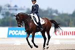 € Kazuki Sado (JPN), <br /> AUGUST 20, 2018 - Equestrian : <br /> Dressage Team <br /> at Jakarta International Equestrian Park <br /> during the 2018 Jakarta Palembang Asian Games <br /> in Jakarta, Indonesia. <br /> (Photo by Naoki Nishimura/AFLO SPORT)