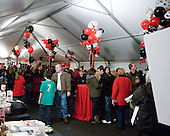 Northeastern had a large tent with a live band and games for the kids in the parking lot outside of Matthews for Homecoming.   - The Northeastern University Huskies defeated the visiting Providence College Friars 5-0 on Saturday, November 20, 2010, at Matthews Arena in Boston, Massachusetts.