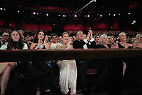 Penelope Cruz, Tom Hanks, Rita Wilson, Charlize Theron and Margot Robbie during the live ABC Telecast of The 92nd Oscars® at the Dolby® Theatre in Hollywood, CA on Sunday, February 9, 2020.<br /> *Editorial Use Only*<br /> CAP/AMPAS<br /> Supplied by Capital Pictures