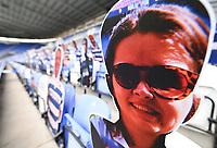 7th July 2020; Madejski Stadium, Reading, Berkshire, England; English Championship Football, Reading versus Huddersfield; Virtual cardboard fans at Reading