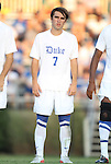 09 September 2011: Duke's Andrew Morales. The University of Virginia Cavaliers defeated the Duke University Blue Devils 1-0 at Koskinen Stadium in Durham, North Carolina in an NCAA Division I Men's Soccer game.