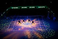Rotterdam, The Netherlands, 17 Februari 2019, ABNAMRO World Tennis Tournament, Ahoy, Live Act, Dancers,<br /> Photo: www.tennisimages.com/Henk Koster