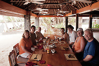 Guests at Lunch, Turtle Island, Yasawa Islands, Fiji