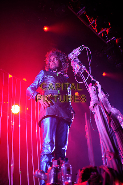 Wayne Coyne.The Flaming Lips performing in concert, Camden Roundhouse, London, England. .21st May 2013.on stage live gig performance music full length black leather jacket trousers.CAP/MAR.© Martin Harris/Capital Pictures.