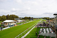 Salisbury Racecourse looking dry and sunny during Afternoon Racing at Salisbury Racecourse on 4th October 2017