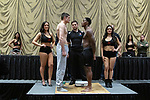 Las Vegas 02-12-2020: Reid Boxing inaugural Professional Boxing Weighin, at the Westgate Las Vegas with 5 exciting cards: ALEX CAZAC   vs JABRANDON HARRIS