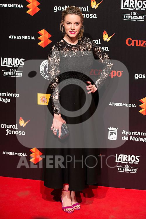 Carolina Bang attends to the cocktail presentation of the XIX Malaga Film Festival at Circulo de Bellas Artes in Madrid. April 06, 2016. (ALTERPHOTOS/Borja B.Hojas)