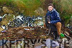 Jack O'Callaghan of the Tralee Bay Clean Up group at the site of their major clean up on Saturday morning in the Tralee Wetlands.