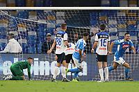 Nikola Maksimovic of Napoli celebrates after scoring a goal<br /> Napoli 30-10-2019 Stadio San Paolo <br /> Football Serie A 2019/2020 <br /> SSC Napoli - Atalanta BC<br /> Photo Cesare Purini / Insidefoto