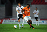 2011 09 28 Swansea City FC reserves v Newcastle at Parc Y Scarlets, Llanelli, Carmarthenshire, UK
