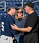May 21, 2012: Reno's Scott Cousins playing for the New Orleans Zephyrs against the Reno Aces during their game on Monday night at Aces Ballpark in Reno NV.
