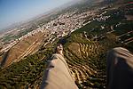 Parapente en Alhama de Murcia. Murcia.
