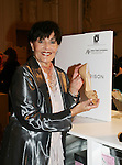 "Linda Dano (Another World, OLTL, AMC, GH) is holding a Sigerson Morrison shoe at the 15th Annual QVC presents ""FFANY Shoes on Sale"" which benefits Breast Cancer Research on October 15, 2008 at the Waldorf Astoria, New York City, New York. (Photo by Sue Coflin/Max Photos)"