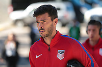 San Diego, CA - Sunday January 29, 2017: Brad Evans prior to an international friendly between the men's national teams of the United States (USA) and Serbia (SRB) at Qualcomm Stadium.