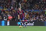 01.11.2014 Barcelona, Spain. La Liga day 10. Picture show Mathieu in action during game between FC Barcelona against Celta de Vigo at Camp Nou