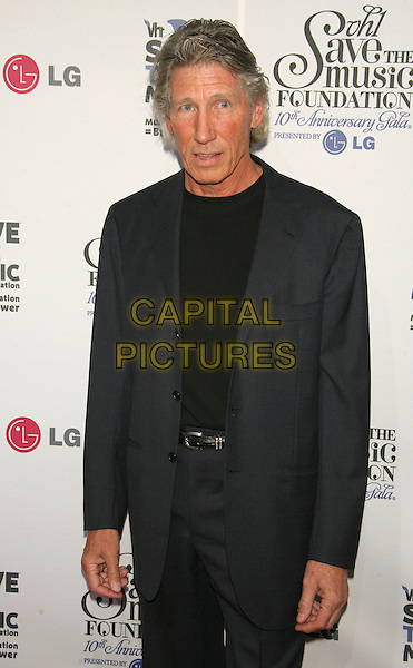 ROGER WATERS.VH1 Save the Music Foundation celebrates its first decade of success with a 10th anniversary gala presented by LG Mobile Phones at Lincoln Center, New York, New York, USA. .September 20th, 2007.half length grey gray suit .CAP/LNC/TOM.©TOM/LNC/Capital Pictures
