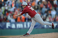 Michael Roth (Pitcher) South Carolina Gamecocks (Photo by Tony Farlow/Four Seam Images)